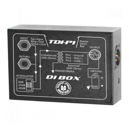Caja Directa Pasiva Topp Pro Tdi-p1