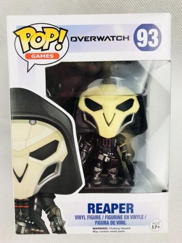 Funko Pop Overwatch 93 Reaper Nuevo Magic4ever