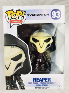 Funko Pop Overwatch 93 Reaper Nuevo Magic4ever