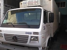 Caminhão 3/4 Vw 8120 Baú Refrigerado
