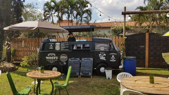 Food Truck Kombi - Pronto Pra Trabalhar. Motor Novo.
