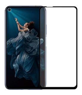 Mica Cristal Templado Curva Huawei Nova 5t Full Cover 5d