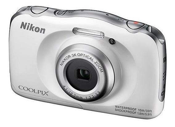 Câmera Nikon Coolpix W100 Prova D