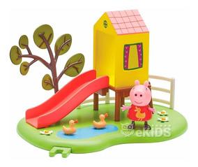 Peppa Pig Playset Hora De Brincar 4205 Dtc
