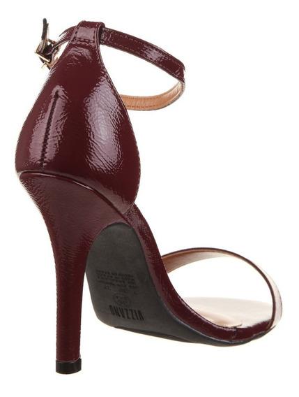 Sandalia Vizzano Alta Plataforma Con Brillo O Zapato Aguja