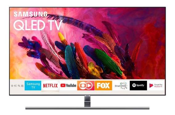 Smart Tv Samsung Qled 55 , 4k, Wi-fi, Qn55q7fnagxzd - Bivolt