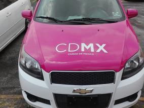 Taxi Aveo Modelo 2014 (con Venta O Renta De Placas)