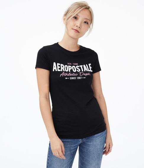 Remera Aeropostale Mujer 100 % Original Importado