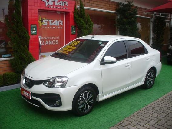 Etios Sedan Platinum 1.5 Automático Flex