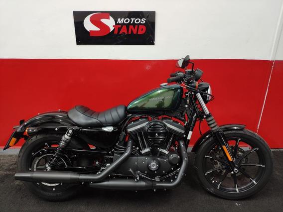 Harley Davidson Sportster Xl 883 N Iron 2018 Verde