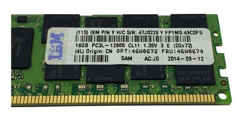 Imagem 1 de 3 de Kit Memória 32gb 2x16gb Ibm System X3630 M4 / X3650 M4