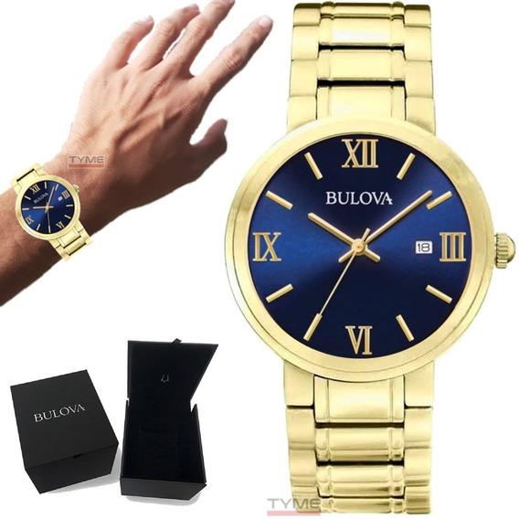 Relógio Bulova Masculino Classic Wb26146z 97b159 Nota Fiscal