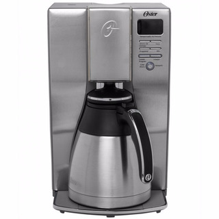Cafetera Programable 10 Tazas Acero Inox Oster Bvstdc4411