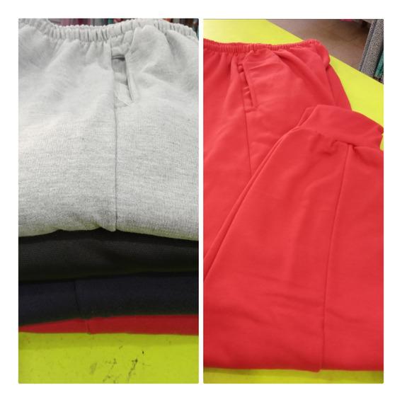 Pantalón Deportivo Con Puño, Felpa O Satinado