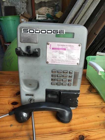 Telefone Modelo Orelhão Publico Antigo Decoração
