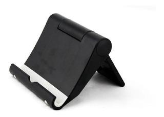 Suporte De Mesa Universal Celular Tablet Smartphone + Nfe
