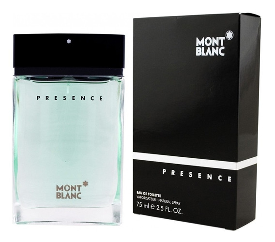 Perfume Mont Blanc Presence 75ml Masculino - Original