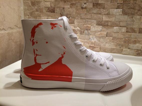 Tenis Calvin Klein Edición Especial Andy Warhol 34s0348 -wog