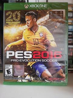 Pes 16 Xbox One Nuevo Sellado