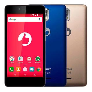 Smartphone Positivo Twist, Dourado/azul, S520 5.0 , 8gb, 8mp