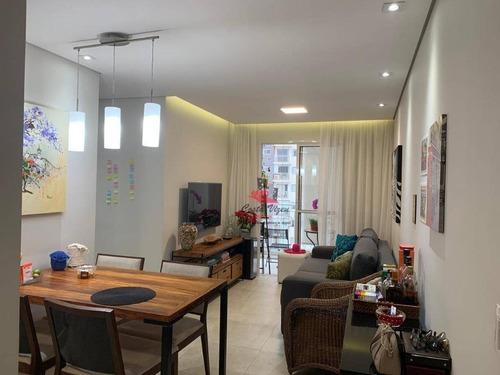 Apartamento Com 2 Dormitórios À Venda, 60 M² Por R$ 480.000,00 - Vila Mascote - São Paulo/sp - Ap1298