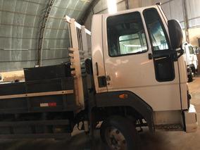 Ford Cargo 816 4x2 Ano 2013/2014 Carroceria De Madeira