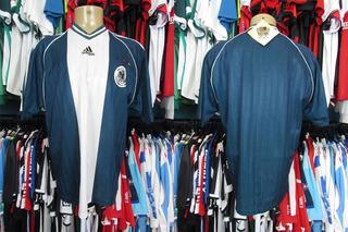 Alemanha 1998 Camisa Reserva Tamanho G.