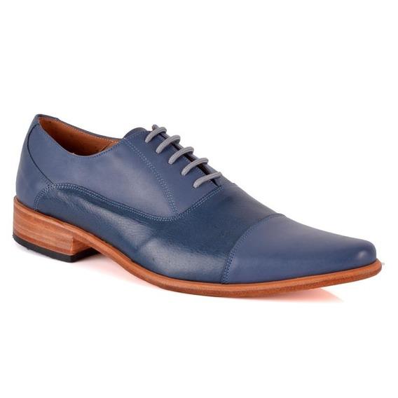 Zapato Free Comfort 11004 Azul