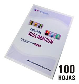 Papel Para Sublimación A4 Coreano Pack 100 Hojas