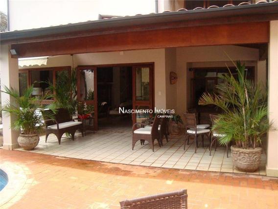 Casa Residencial À Venda, Gramado, Campinas. - Ca0071