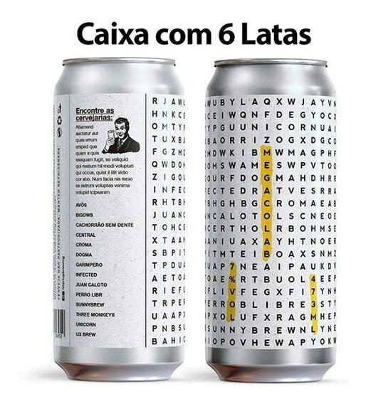 Cerveja Ux Brew Who Brewed My Ris Caixa C/ 6 Latas 473 Ml