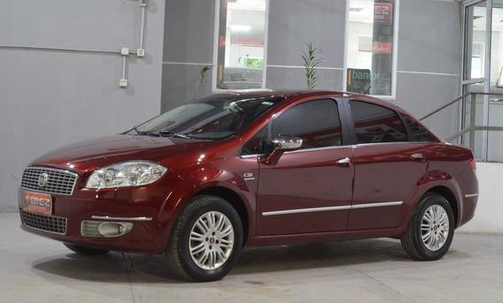 Fiat Linea Hlx Dualogic 1.9 16v Nafta 2009 Color Bordo
