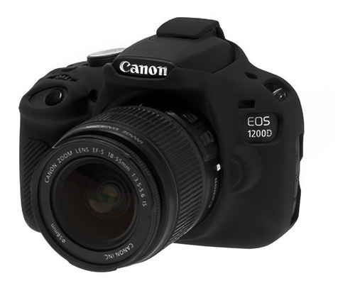 Imagen 1 de 5 de Funda Protectora Para Cámara Fotográfica Canon 1200d / T5