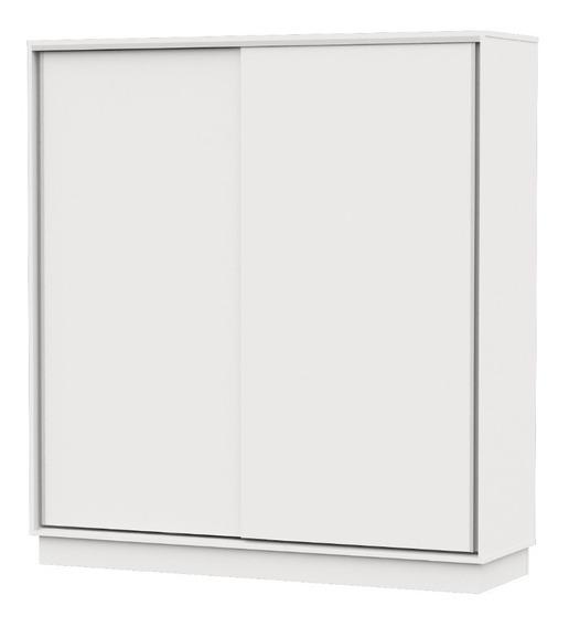 Placard Dielfe 180cm Puertas Corredizas Blanco Pe180 95-269