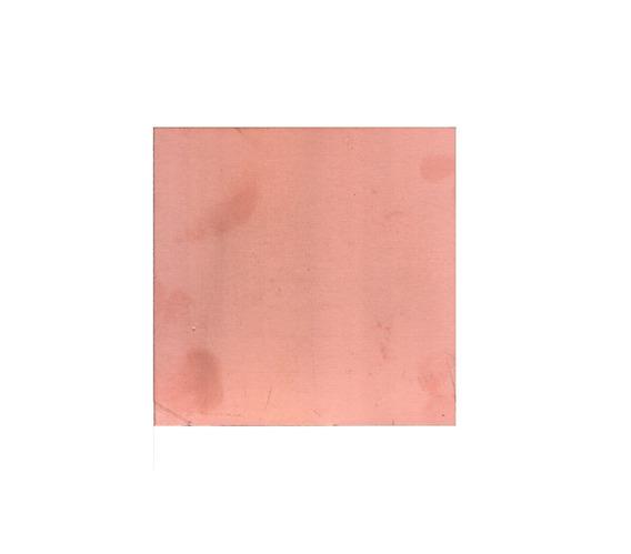 Placa Plaqueta Fenolico 10x10 Simple Faz Cobre Pcb Pertinax