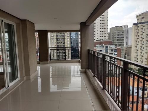 Apartamento 357² Com 4 Suítes, Lazer Completo E 5 Vagas A 800m Do Parque Do Ibirapuera! - 13892