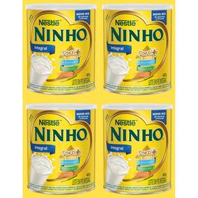 Ninho Leite Em Pó Lata 400g Nestlé - Kit Com 4