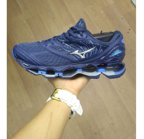 Tênis Mizuno Wave Prophecy Pro 8 Azul