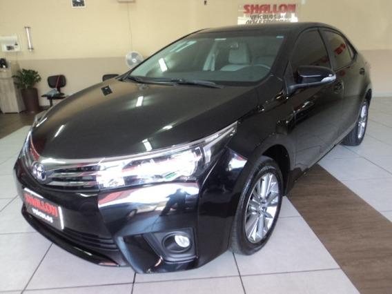 Toyota Corolla 2.0 16v Xei Multi-drive S 4p 2016/2017 Preto