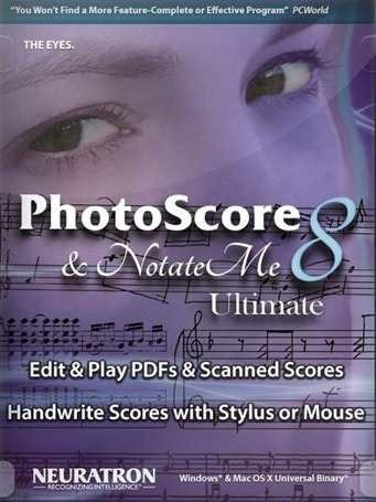 Photoscore & Notateme 8.0.4 (ultima Versão Atualizada) - Win