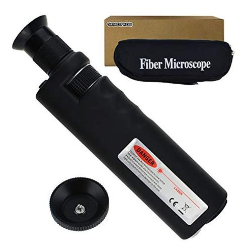 Imagen 1 de 4 de Gain Express Inspeccion De Fibra Optica El Microscopio Handh