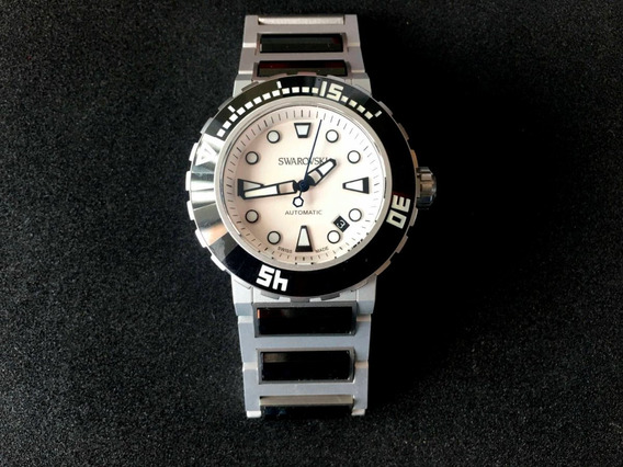 Reloj Octea Abyssal Automático Swarovski Original 1194063