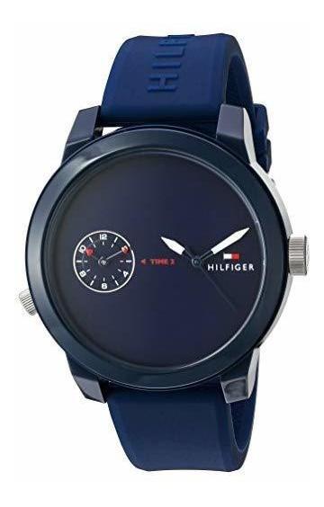 Reloj Tommy Hilfiger Denim Sport Para Hombres Azul