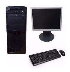 Kit Pc E Monitor Core I5 4gb,250gb+monitor 17 Completo