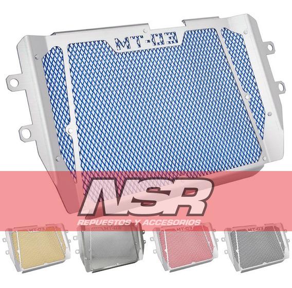 Cubre Radiador Yamaha Mt03 Protector Metalico Mt 03 Nsr Moto
