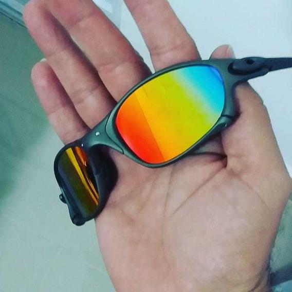 Óculos De Sol Double X Brilho Reto Nas Arco Iris