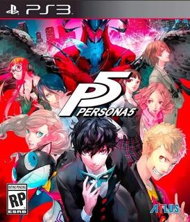 Persona 5 Ps3 Original- Play Perú