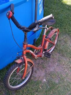 Bici R 14 Con Rueditas Incluidas