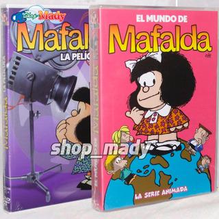 Paq. Mafalfa La Pelicula + El Mundo De Mafalda La Serie Dvd