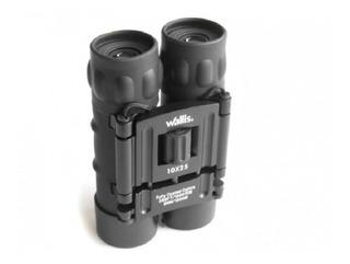 Binocular Compacto Negro 10x25 Wallis ¡envío Gratis!